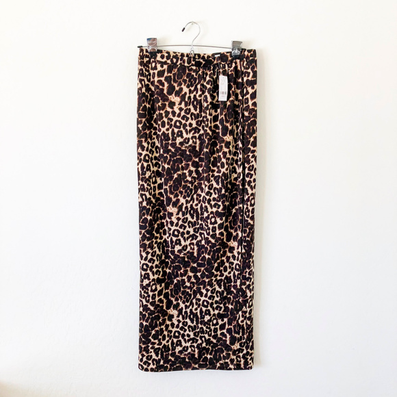 New York & Company Dresses & Skirts - NY&C Cheetah Print Maxi Wrap Skirt